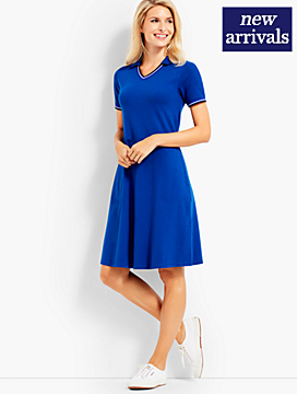Pique Polo Dress