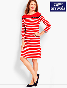 Stripe Interlock Dress
