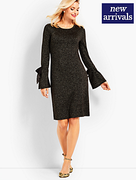 Merino Sparkle Sweater Dress