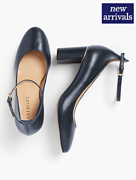 Ellery Ankle-Strap Pumps - Soft Napa Leather