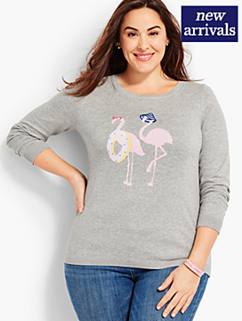 Flamingo Sweater