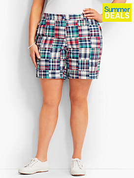 The Weekend Short - Patchwork Plaid