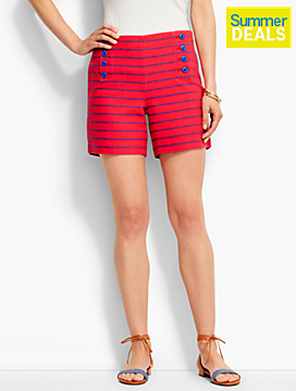 Sailor-Button Short