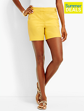 Gold-Button Sailor Short