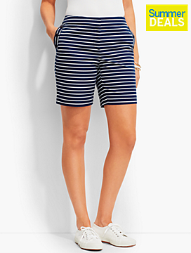 Striped Sailor Short