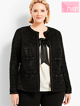 Social Butterfly Tweed Jacket