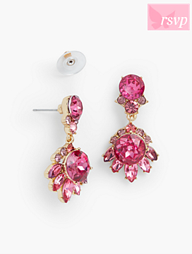 Sparkling Crystal Statement Earrings