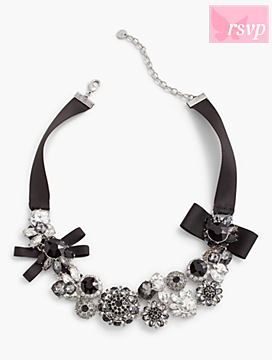 Ribbon-Cluster Necklace
