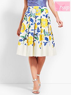 Full Flowered Skirt