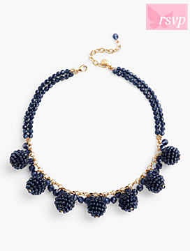 RSVP Faceted Bead Necklace
