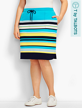 Sunray Stripe Skirt