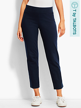 Everyday Straight-Leg Ankle Pant - T by Talbots