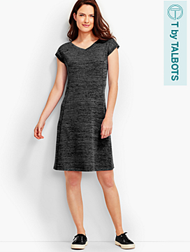 Soft-Drape Jersey Dress - T by Talbots