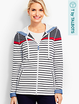 The Perfect Blocked Stripes Hoodie
