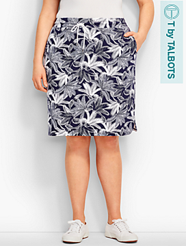 Mixed-Ferns Skirt