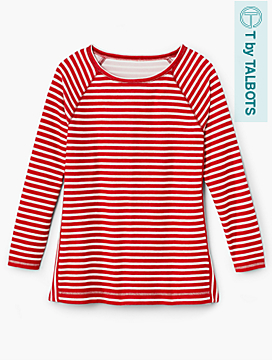 Upland Stripes Top - T by Talbots