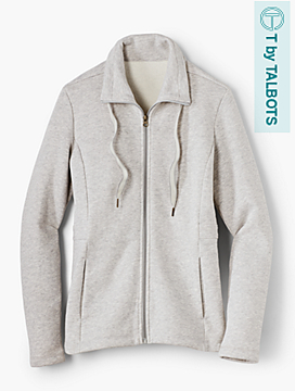 Autumn Fleece Jacket - T by Talbots