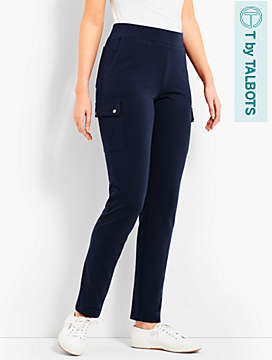 Straight-Leg Cargo Pant - T by Talbots
