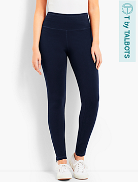 Everyday High-Waist Legging - T by Talbots