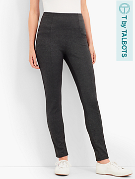 Textured High-Waist Legging