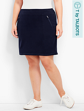 Longer-Length Everyday Knit Skort