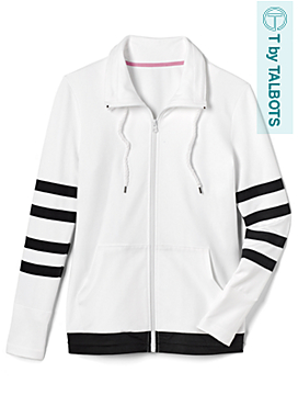 Varsity Stripes Zip Jacket