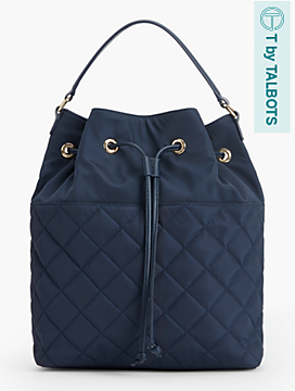 Quilted Backpack