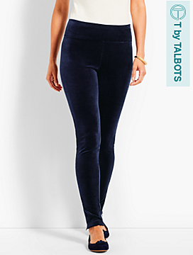 Luxe Velour High-Waist Legging