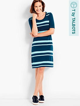 Cabin Stripe T-Shirt Dress