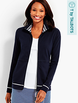 Everyday Jacket - Contrast-Trim