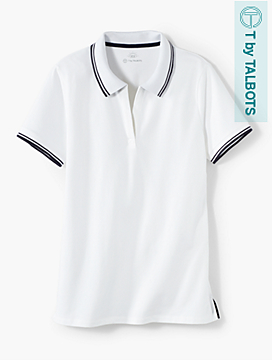 UPF 50 Pique Split-Neck Polo