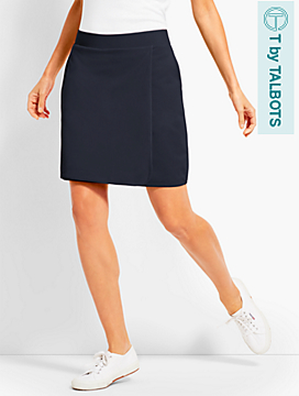 Everyday Faux-Wrap Skort
