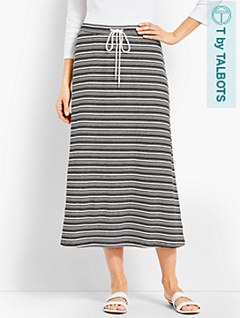 Sierra Stripe Terry Skirt