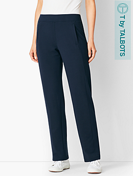 Essential Terry Relaxed-Leg Pants
