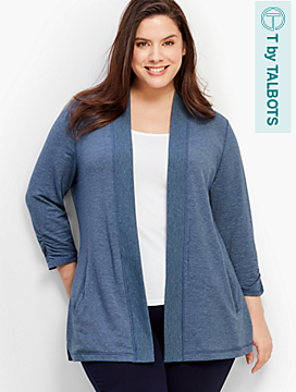 French Terry Cardigan