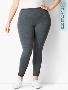 Textured High-Rise Legging