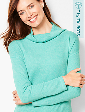 Thermal Cowlneck Top