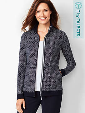 Everyday Yoga Jacket - Geo