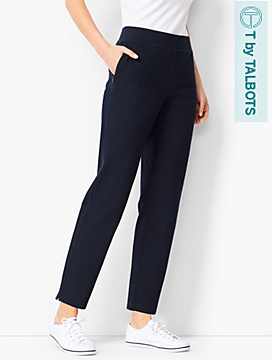 Everyday Curved-Yoke Yoga Pants