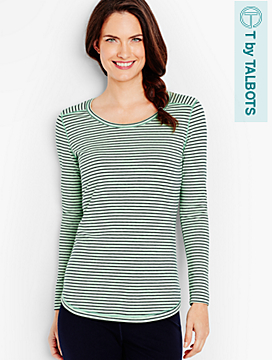 Long-Sleeve Tee - Stripes
