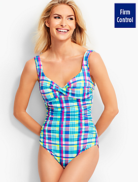 Barcelo Madras Plaid Miraclesuit®