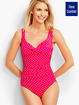 Barcelo Poolside Dots Miraclesuit® - DD cups