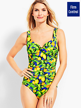 Marina Swim Suit - Citrus Print