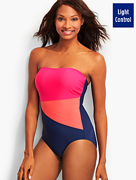 Colorblocked Bandeau Miraclesuit®