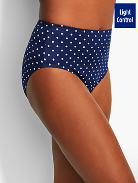 Poolside Dots Basic Swim Brief - Miraclesuit®