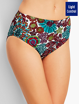 Basic Swim Brief-Beach Blooms-Miraclesuit®