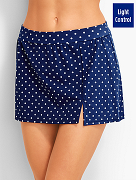 Poolside Dots Skirted Swim Bottom - Miraclesuit®