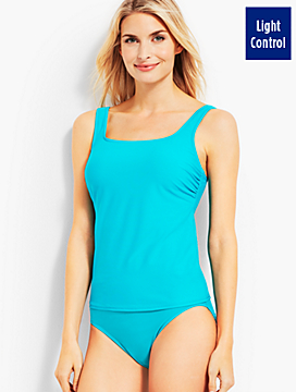 Palmetto Tankini Top