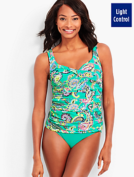 Marina Tankini Top-Pop Paisley