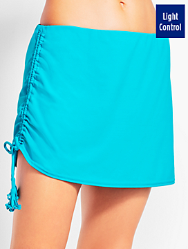 Side Ruched Swim Skirt